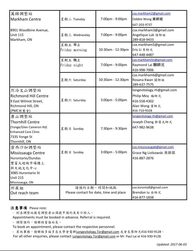 Centre schedule-20171004_2