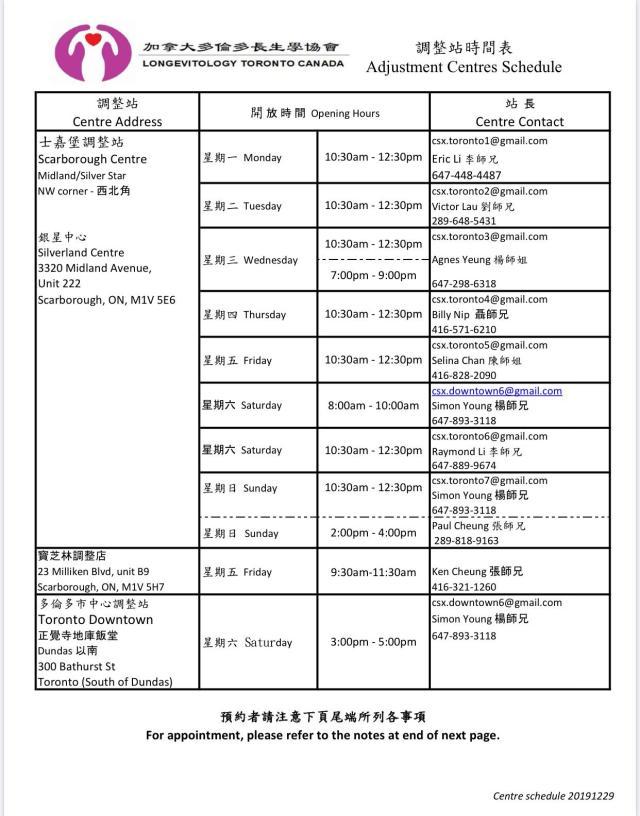Centre schedule 2 (2)